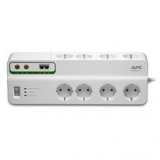 APC Performance SurgeArrest 8 prize 230V cu protecţie telefon & coaxial
