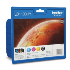 Brother LC1100HYVALBP set 4 cartuşe cerneală