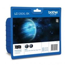 Brother LC1280XLBKBP2 set 2 cartuşe cerneală neagră