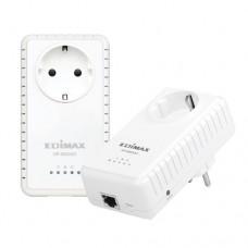 Edimax set adaptoare AV600 Gigabit PowerLine cu priză integrată