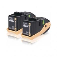 Epson S050609 pachet 2 cartuşe toner negru