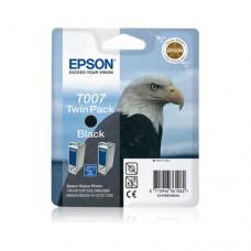 Epson T007 pachet două cartuşe cerneală neagră