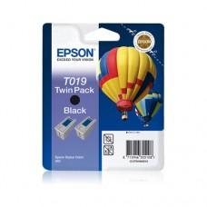 Epson T019 pachet 2 cartuşe cerneală neagră