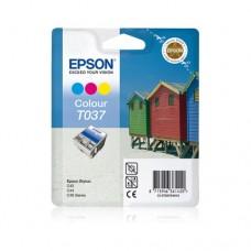 Epson T037 cartuş cerneală color