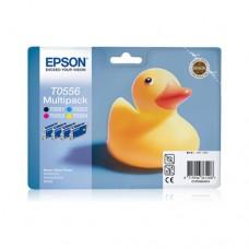 Epson T0556 pachet 4 cartuşe cerneală