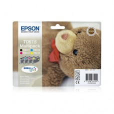Epson T0615 pachet 4 cartuşe cerneală