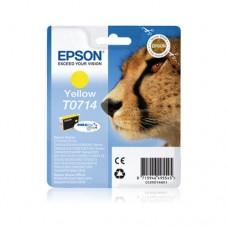 Epson T0714 cartuş cerneală galbenă