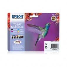 Epson T0807 pachet 6 cartuşe cerneală
