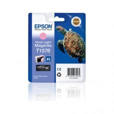 Epson T1576 cartuş cerneală magenta deschis strălucitor