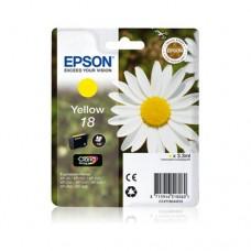 Epson 18 cartuş cerneală galbenă