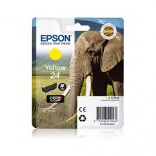 Epson 24 cartuş cerneală galbenă