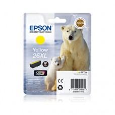 Epson 26XL cartuş cerneală galbenă