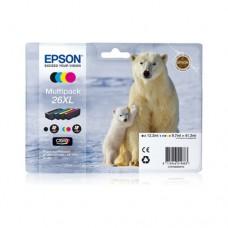 Epson 26XL pachet 4 cartuşe cerneală
