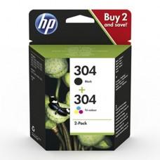 HP 304 pachet 2 cartuşe cerneală