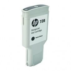 HP 728 cartuș cerneală negru mat 300ml