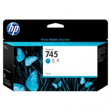 HP 745 cartuș cerneală cyan 130ml