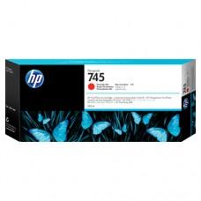 HP 745 cartuș cerneală roşu cromatic 300ml
