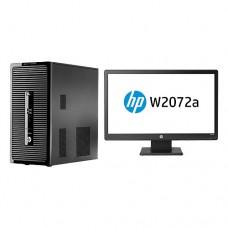HP ProDesk 400 G2 + HP W2072a