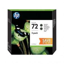 HP 711 pachet 2 cartuşe cerneală negru mat 130ml