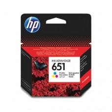HP 651 cartuş cerneală tri-color