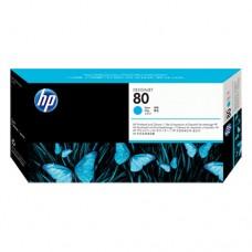 HP 80 cap de imprimare cyan