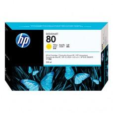 HP 80 cartuş cerneală galbenă 350ml