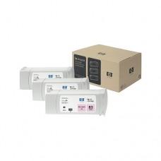 HP 83 pachet 3 cartuşe cerneală magenta deschis 680ml