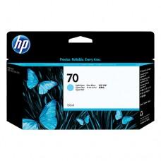 HP 70 cartuş cerneală cyan deschis 130ml