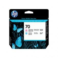 HP 70 cap de imprimare magenta deschis şi cyan deschis