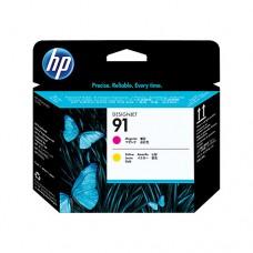 HP 91 cap de imprimare magenta şi galben