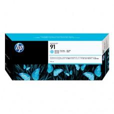 HP 91 cartuş cerneală cyan deschis 775ml