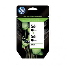 HP 56 pachet 2 cartuşe cerneală neagră