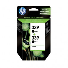 HP 339 pachet 2 cartuşe cerneală neagră