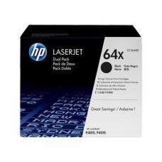 HP 64X cartuş toner negru (2 buc.)