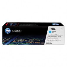 HP 128A cartuş toner cyan
