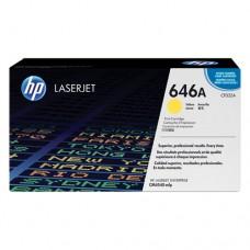 HP 646A cartuş toner galben