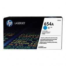 HP 654A cartuş toner cyan