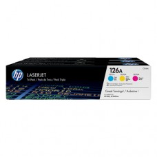 HP 126A cartuşe toner cyan/magenta/galben