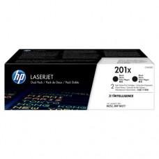 HP 201X pachet 2 cartuşe toner negru