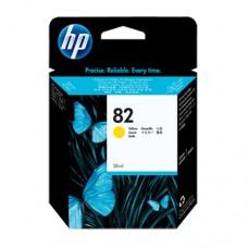 HP 82 cartuş cerneală galbenă 28ml