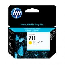 HP 711 cartuş cerneală galbenă 29ml