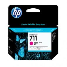 HP 711 pachet 3 cartuşe cerneală magenta 29ml