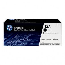 HP 12A cartuş toner negru (2 buc.)