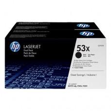 HP 53X cartuş toner negru (2 buc.)