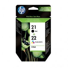 HP 21/22 pachet 2 cartuşe cerneală