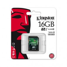 Kingston SDHC 16GB (class 10 UHS-I )