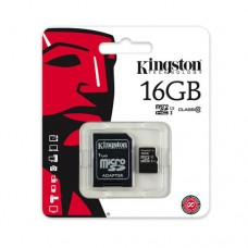 Kingston microSDHC 16GB (class 10 UHS-I)