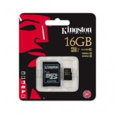 Kingston microSDHC 16GB (class 10 UHS-I U1)