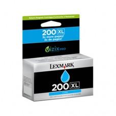 Lexmark #200XL cartuş cerneală cyan