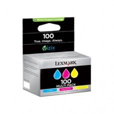 Lexmark #100 pachet 3 cartuşe cerneală